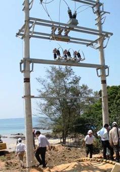 Điện lưới Quốc gia chính thức về đảo Cô Tô