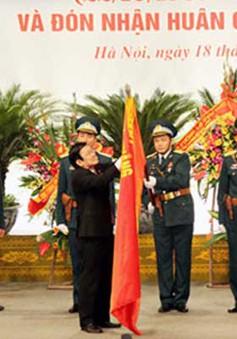 Quân chủng PK-KQ quân đón nhận Huân chương Sao Vàng