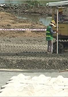 Kiểm tra tiến độ xử lý dioxin tại sân bay Đà Nẵng
