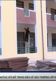 Nhiều sai phạm trong triển khai kiên cố hóa trường lớp tại Sơn La