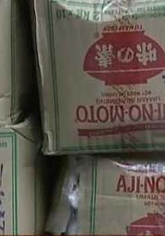 Hải Phòng: Thu giữ trên 4 tấn mì chính giả