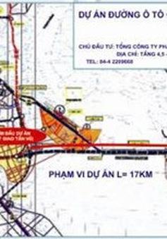 Ký kết gói thầu dự án đường ô tô Tân Vũ - Lạch Huyện