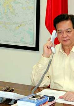 Thủ tướng Nguyễn Tấn Dũng điện đàm với Thủ tướng Malaysia