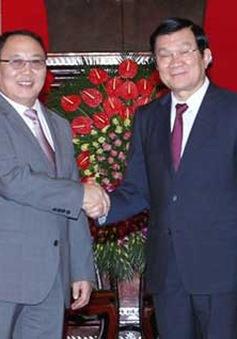 Chủ tịch nước tiếp Viện trưởng Viện Kiểm sát Mông Cổ