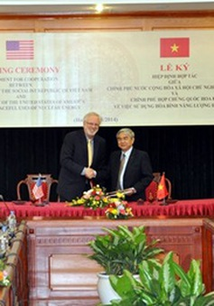 Việt Nam - Hoa Kỳ ký hiệp định về hạt nhân