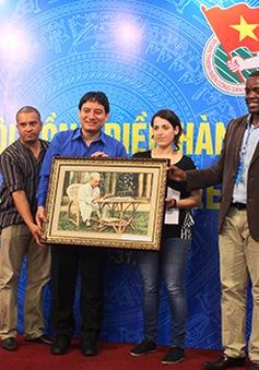 Bế mạc Hội nghị Hội đồng điều hành Liên đoàn TNDC thế giới