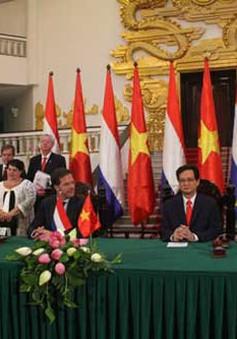 Thủ tướng Hà Lan thăm và làm việc tại Hải Phòng