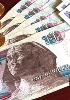 Nợ công Ai Cập chạm ngưỡng 100% GDP