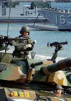 Mỹ - Hàn tập trận chung trên biển Hoàng Hải