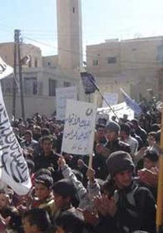 Biểu tình phản đối giao tranh tại Trung Đông