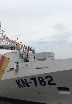 Bàn giao tàu KN-782 cho lực lượng Kiểm ngư Việt Nam