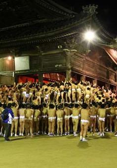 """Cận cảnh lễ hội """"khỏa thân"""" ở Nhật Bản"""