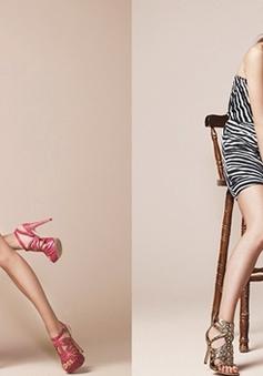 Park Han Byul khoe chân dài nuột nà