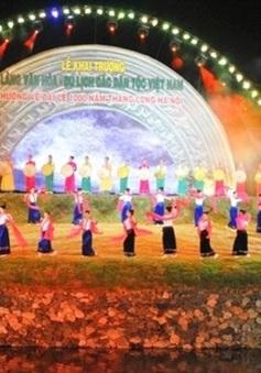"""20h00, 18/11, VTV1: THTT Khai mạc tuần lễ """"Đại đoàn kết các dân tộc - Di sản Văn hóa Việt Nam"""""""