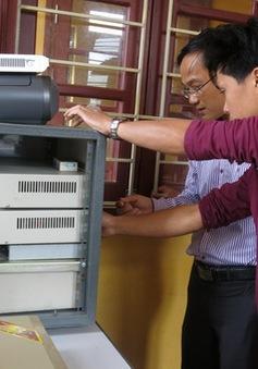 Xã vùng cao Tả Giàng Phình lắp đặt thành công hệ thống phát thanh không dây