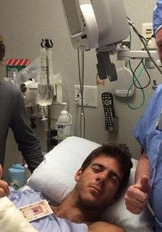 Phẫu thuật cổ tay, Del Potro phải nghỉ thi đấu 6 tháng
