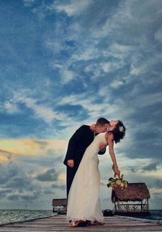 13 bức ảnh cưới gây choáng ngợp