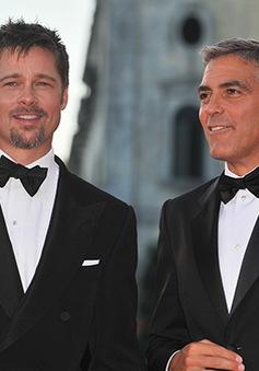George Clooney sẽ mời Brad Pitt là phù rể?