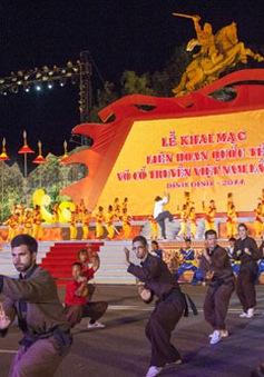Khai mạc Liên hoan quốc tế võ cổ truyền Việt Nam lần thứ V