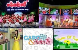 Những chương trình thiếu nhi ấn tượng trên VTV