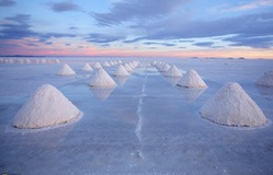 Kỳ ảo cánh đồng muối tự nhiên lớn nhất thế giới