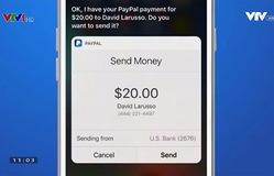 PayPal cho phép chuyển tiền qua trợ lý ảo Siri