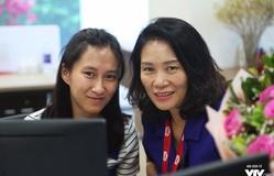 GLTT cùng nhà báo Tạ Bích Loan trước giờ G lễ trao giải VTV Awards 2017