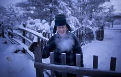 Run cầm cập trước hình ảnh ở ngôi làng lạnh nhất thế giới