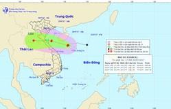 Bão số 4 đi vào đất liền Nghệ An - Quảng Bình trong 24 đến 48 giờ tới