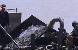 """""""Cát tặc"""" tiếp tục hoành hành trên sông Đồng Nai"""