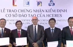 Bốn trường đại học đầu tiên nhận chứng nhận kiểm định quốc tế