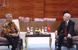 Kinh tế thương mại đầu tư là trụ cột quan hệ Việt Nam - Indonesia