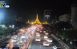 Cảnh giao thông tại Yangon (Myanmar) sau 10 năm cấm xe máy