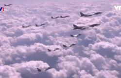 Mỹ - Hàn Quốc diễn tập không quân