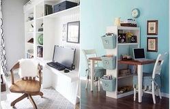 Cách tận dụng không gian để có một phòng làm việc nhỏ