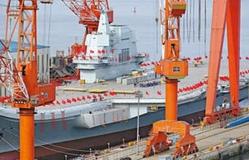 Trung Quốc hạ thủy tàu sân bay 001A