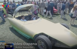 Chiêm ngưỡng những mẫu xe cổ độc đáo từ những năm 1960