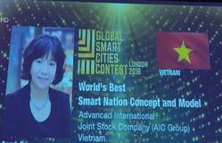 Việt Nam giành giải nhất ý tưởng thành phố thông minh