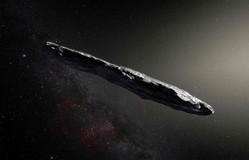 Vật thể nghi là tàu vũ trụ của người ngoài hành tinh