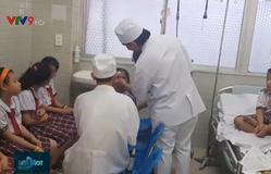 Vụ sập giàn giáo tại trường học ở TP.HCM: Nhiều học sinh đã được xuất viện