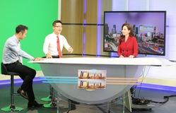 """Dàn MC xinh đẹp trong buổi quay thử chương trình mới """"Việt Nam hôm nay"""""""