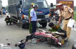 Ngày mùng 1 Tết, cả nước xảy ra 46 vụ tai nạn giao thông