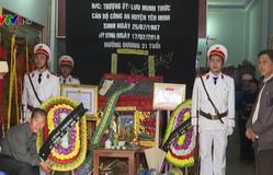 Lễ truy điệu chiến sĩ công an Hà Giang hy sinh khi làm nhiệm vụ