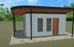 Nhà in 3D dành cho người vô gia cư