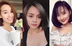 """Khi loạt nữ diễn viên Việt """"rủ"""" nhau cắt tóc ngắn"""
