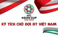 [INFOGRAPHIC] Asian Cup 2019 - Kỳ tích chờ đợi ĐT Việt Nam