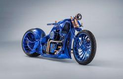 Ngắm chiếc Harley Davidson mạ vàng và kim cương đắt giá nhất thế giới