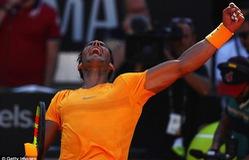 Thắng Djokovic, Rafael Nadal tiến vào chung kết Rome mở rộng 2018