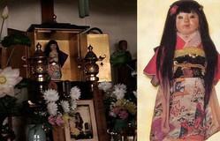 Rùng rợn búp bê mọc thêm tóc ở đền Nhật Bản