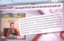 """Các ông lớn FDI chỉ """"hắt hơi"""", nền kinh tế Việt Nam đã """"phát sốt"""""""